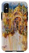 Evening Lights On St. Mark Square IPhone X Tough Case