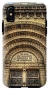 Facade Of Manila Cathedral IPhone X Tough Case