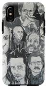faces of Gary Oldman IPhone X Tough Case