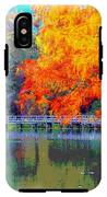 Fall At The Lake IPhone X Tough Case