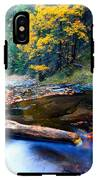 Fall In Bulgarian Forest  IPhone X Tough Case