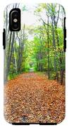 Fall In New England IPhone X Tough Case