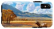 Fall In Paradise Valley IPhone X Tough Case