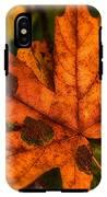 Fallen Maple Leave IPhone X Tough Case