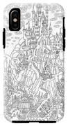Fantasy Landscape. Fairy Tale Castle On IPhone X Tough Case