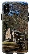 Farm Cabin Cades Cove Tennessee IPhone X Tough Case