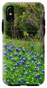 Fenced In Bluebonnets IPhone X Tough Case