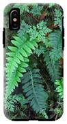 Ferns Along The Columbia River IPhone X Tough Case