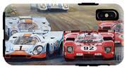 Ferrari Vs Porsche 1970 Watkins Glen 6 Hours IPhone X Tough Case