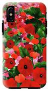 Field Of Poppies IPhone X Tough Case
