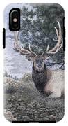 Fields Peak Elk IPhone X Tough Case