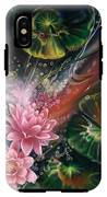 Fish In The Lily Pond IPhone X Tough Case