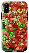 Flamboyant In Bloom IPhone X Tough Case