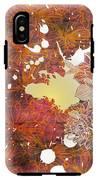 Floral Print IPhone X Tough Case