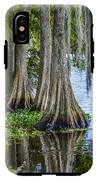 Florida Cypress Trees IPhone X Tough Case