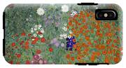 Flower Garden IPhone X Tough Case