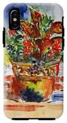 Flower Pot IPhone X Tough Case