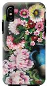 Flowers And Vase IPhone X Tough Case