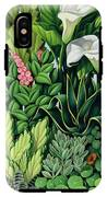 Foliage IPhone X Tough Case