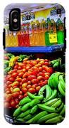 Food Market IPhone X Tough Case