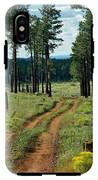 Forest Path IPhone X Tough Case
