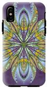 Fractal Blossom IPhone X Tough Case