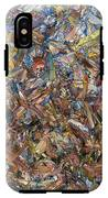 Fragmented Fall - Square IPhone X Tough Case