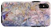 Fragmented Sea - Square IPhone X Tough Case