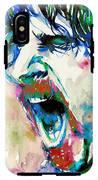 Frank Zappa  Portrait.4 IPhone X Tough Case