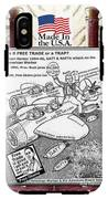 Free Trade Trap IPhone X Tough Case