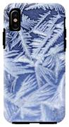Frost In Blue IPhone X Tough Case