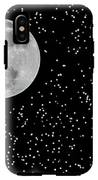 Full Moon And Stars IPhone X Tough Case