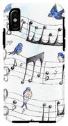 Fur Elise Song Birds IPhone X Tough Case