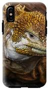 Galapagos Land Iguana  IPhone X Tough Case