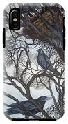 Gathering A Murder Of Crows I IPhone X Tough Case