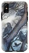 Gathering A Murder Of Crows II IPhone X Tough Case