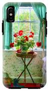 Geraniums In The Bedroom IPhone X Tough Case
