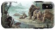 Gigantopithecus With Homo Erectus IPhone X Tough Case