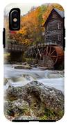 Glade Creek Grist Mill-babcock State Park West Virginia IPhone X Tough Case