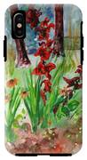Gladioli-2 IPhone X Tough Case