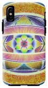 Glow Sphere Delta IPhone X Tough Case