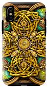 Gold Celtic Cross IPhone X Tough Case