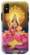 Gold Lakshmi IPhone X Tough Case
