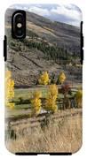 Golden Fall In Montana IPhone X Tough Case