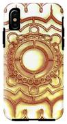 Golden Ornamental Design. IPhone X Tough Case