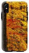 Golden Trees Glowing IPhone X Tough Case
