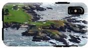 Golf Course On An Island, Pebble Beach IPhone X Tough Case