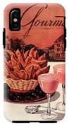 Gourmet Cover Featuring A Basket Of Potato Curls IPhone X Tough Case