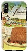 Gourmet Cover Featuring A Buffet Farm Scene IPhone X Tough Case