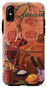 Gourmet Cover Featuring A Casserole Pot IPhone X Tough Case
